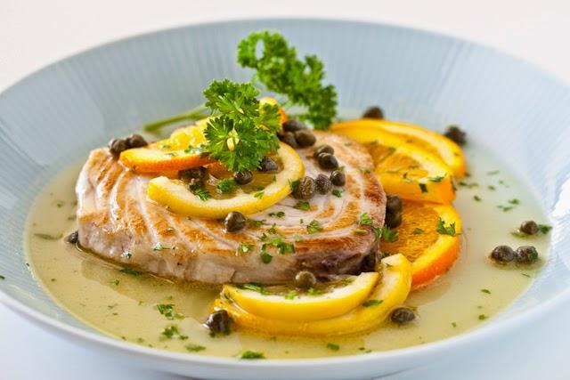 魚のシトラスケッパー添えのレシピ