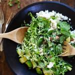 グリーンデトックスサラダのレシピ