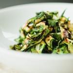 ズッキーニのグリルサラダのレシピ