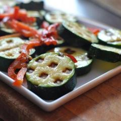 野菜のワッフル