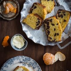 オレンジとチョコレートのパウンドケーキ