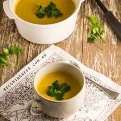かぼちゃとココナッツのスープ