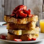 いちごのフレンチトーストのレシピ