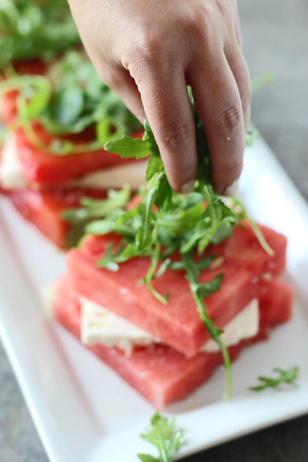 スイカとフェタチーズのグリルサラダのレシピ2