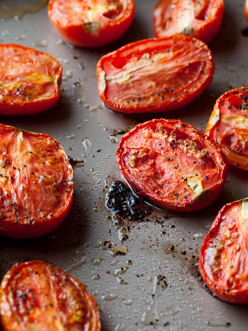 ローストトマトとバジルのクリーミースープのレシピ2