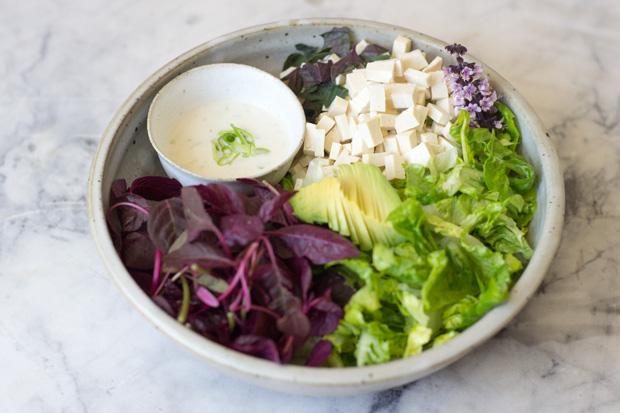 豆腐とアマランスのサラダのレシピ2