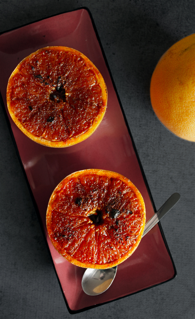 グレープフルーツブリュレのレシピ2