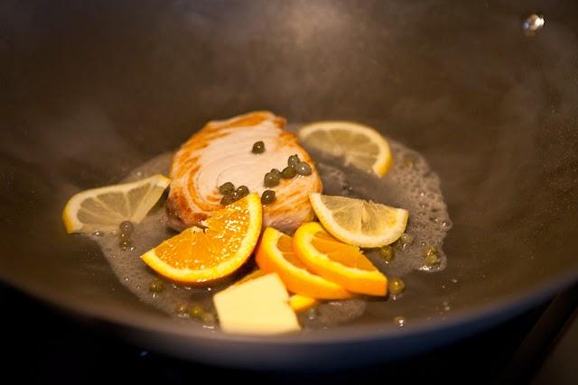 魚のシトラスケッパー添えのレシピ2