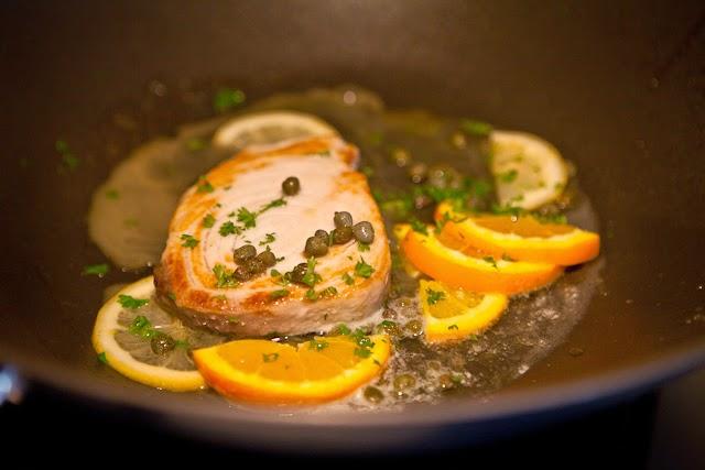 魚のシトラスケッパー添えのレシピ3