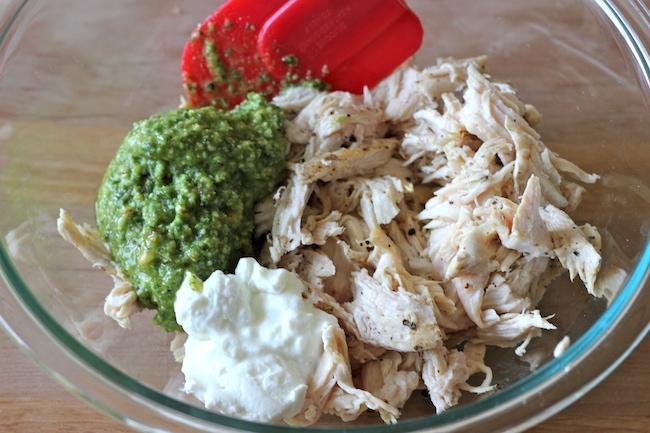 チキン&バジルペーストのサンドイッチのレシピ4