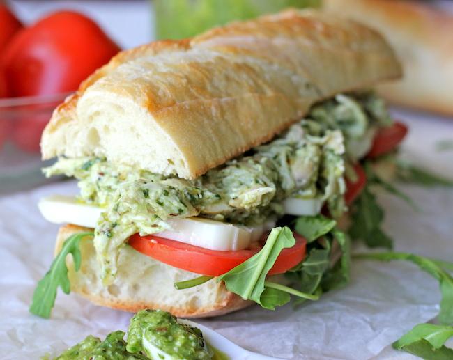 チキン&バジルペーストのサンドイッチのレシピ5
