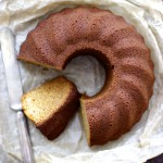 キヌアとアーモンドのシフォンケーキのレシピ