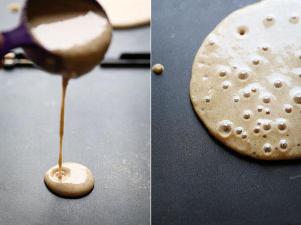 シナモンとオーツ麦のパンケーキのレシピ2
