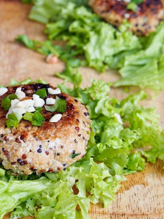 キヌア(キノア)と豚肉のハンバーグのレシピ2