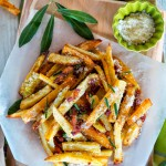 ペコリーノとベーコンのフレンチポテトフライのレシピ