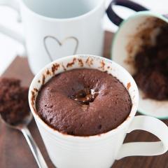 チョコレートマグケーキ