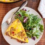 野菜とゴーダチーズのフリッタータのレシピ